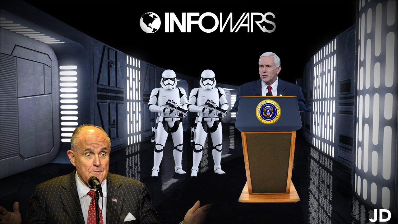 34 – It's a (perjury) TRAP! , Space Force mocked, and RIP Alex Jones