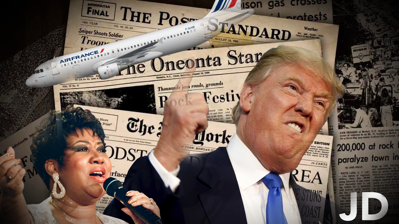 38 – RIP Aretha Franklin, 350 Newspapers against one president, and AirFrance is no longer French?