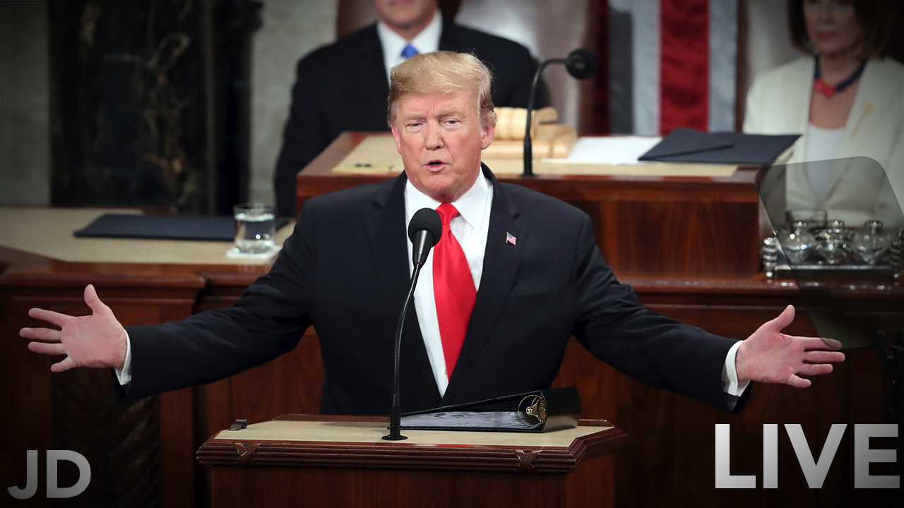 70 – LIVE Coverage of SOTU 2019