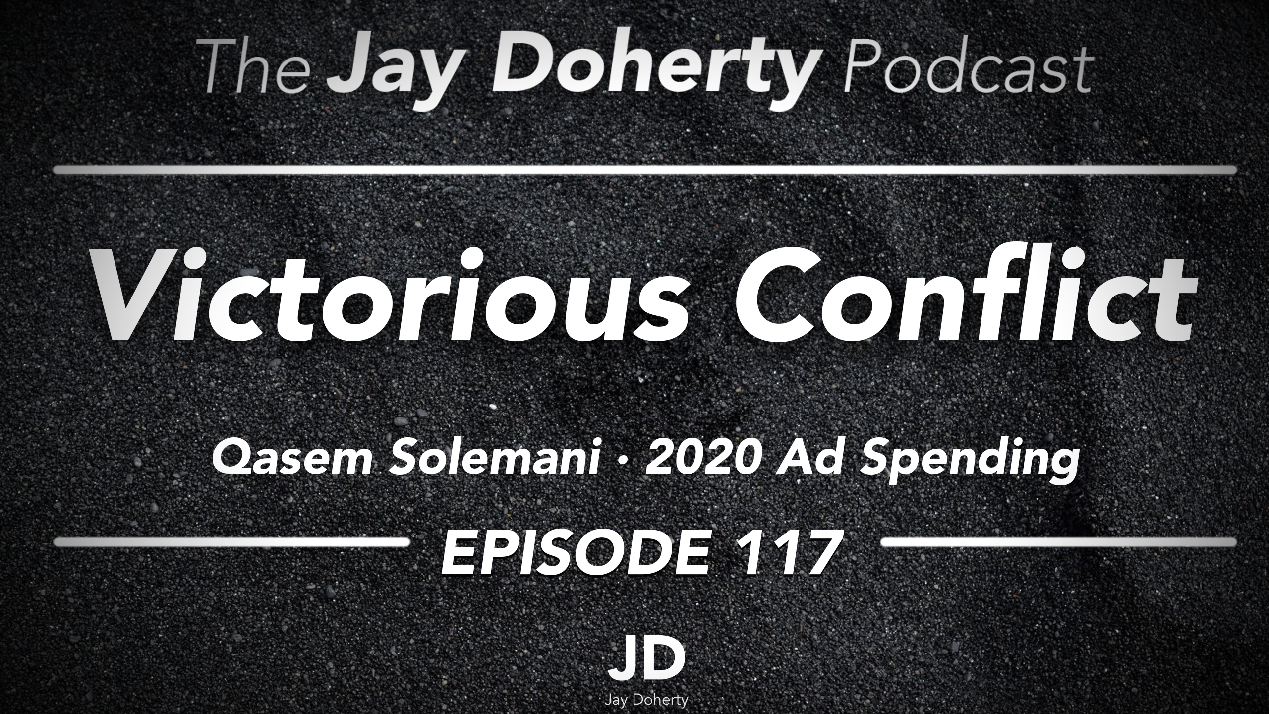 117 – Victorious Conflict | Qasem Soleimani and 2020 Ad Spending